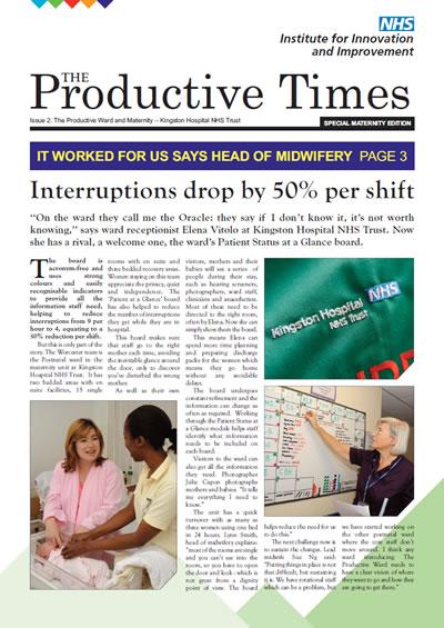 NHS - Productive Ward