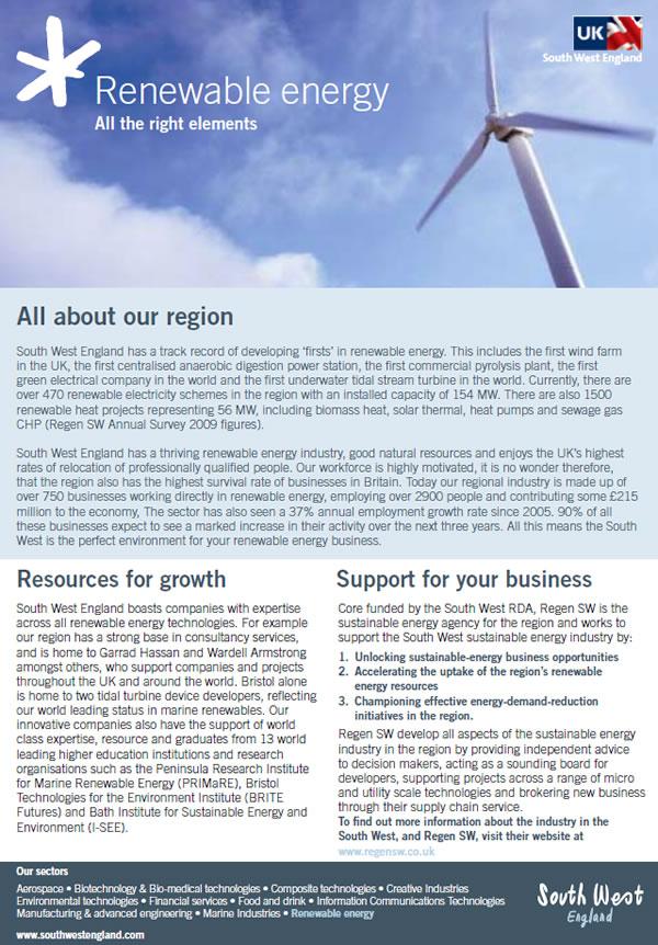 SWRDA Renewables hotsheet 2